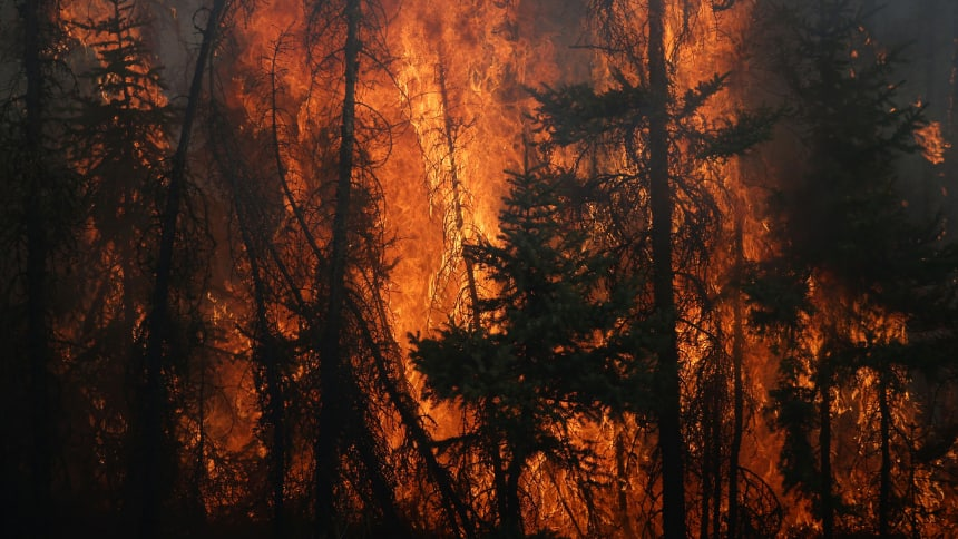 How Canada's wildfires are connected to climate change